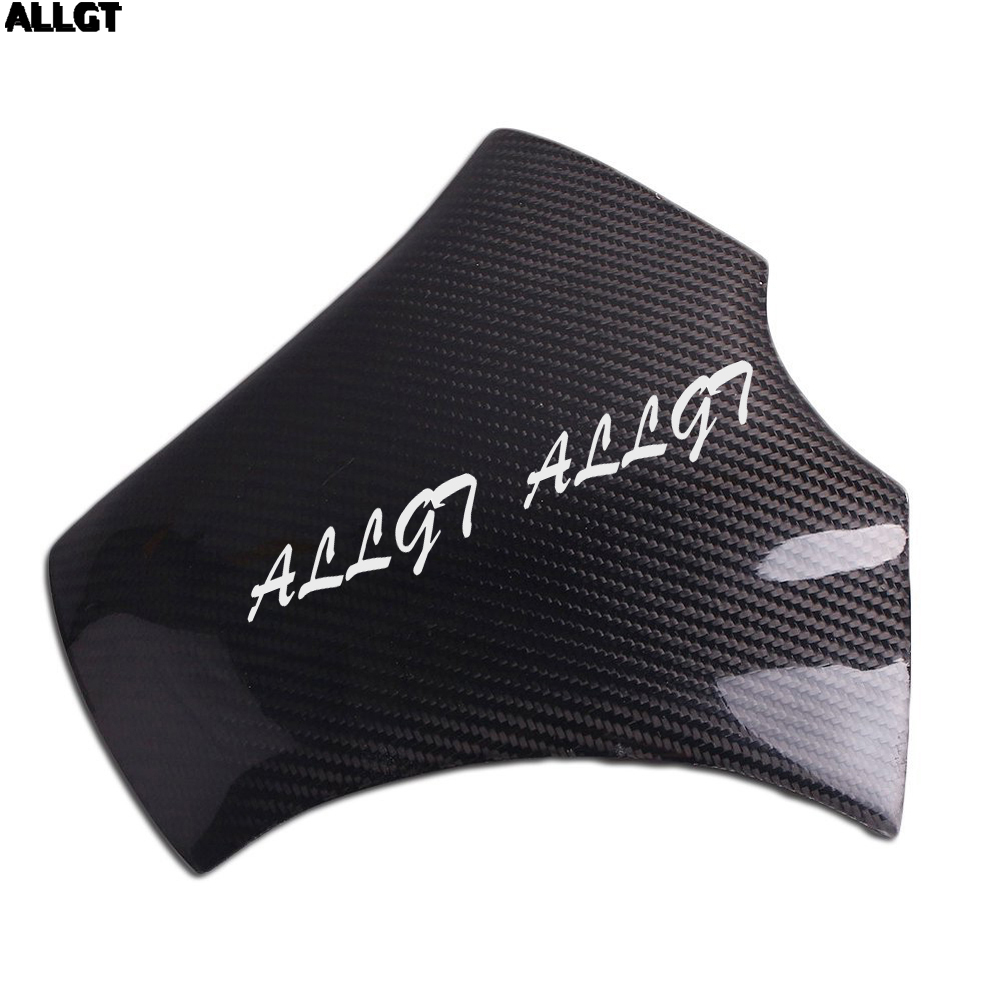 ALLGT Real Carbon Fiber Fuel Gas Tank Cover Protector For Honda CBR600RR 20072008 2009 2010 2011 2012 arashi motorcycle radiator grille protective cover grill guard protector for 2008 2009 2010 2011 honda cbr1000rr cbr 1000 rr