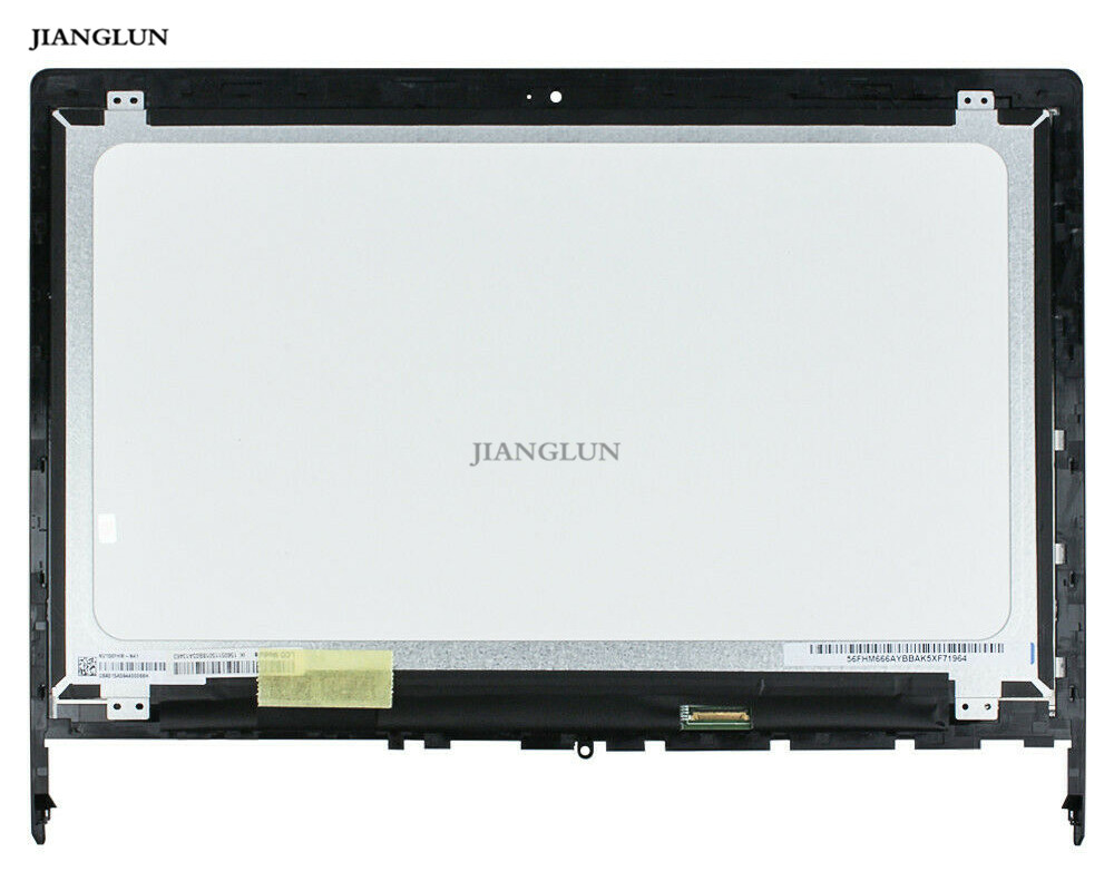 Lenovo Edge 15 80H1 80K9 15.6 LCD Touch Screen Digitizer Assembly with Frame (2)