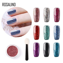 ROSALIND NEW Sparking Sequins Powder For DIY Manicure Nail A