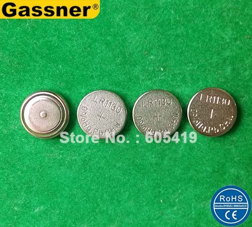 5000pcs/Lot, AG10 LR1130 alkaline button cell battery 0%Hg Pb Mercury free Super quality