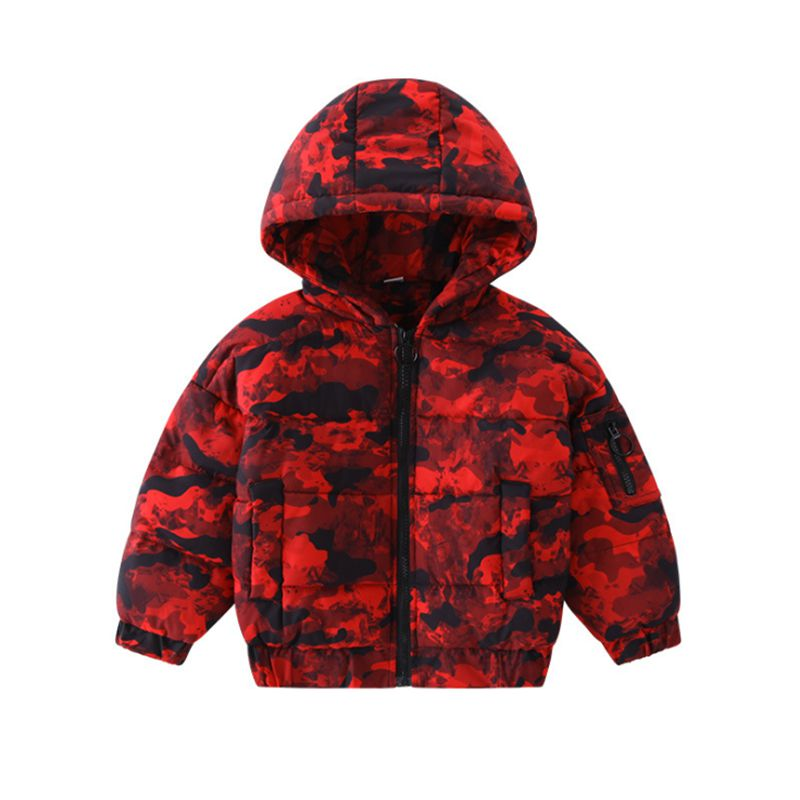Kids Clothing 2018 New Winter Boy Coat Thick warm Boy Jacket Casual Hooded Outerwear Children Cotton Clothes LK223 все цены