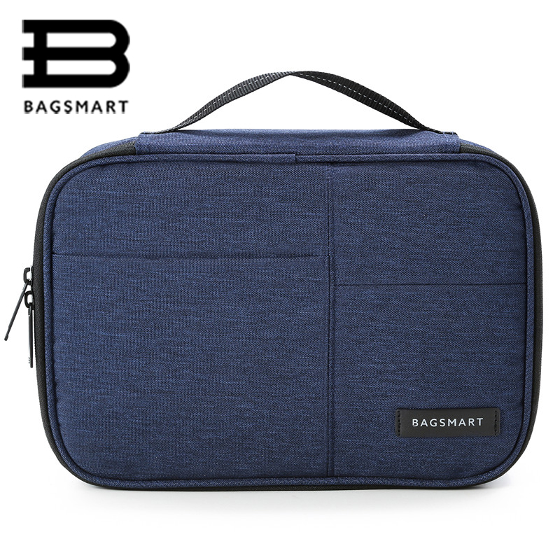 Bagsmart Travel Accessories Waterproof Polyester bag Large capacity Fashion design Travel Accessories Travel Electric bags