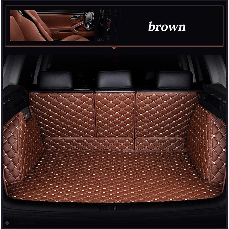 Leather car trunk mat for mazda 3 axela 6 atenza cx5 cx 5 cx7 cx 7