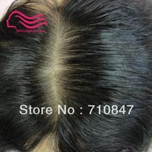 Alitsingtaowigs , 100% good brazilian hair skin injection men toupee, hair men wig , free shipping !