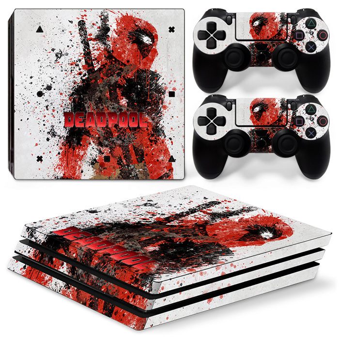 New arrival Vinyl skin sticker for PS4 PRO games console deacal