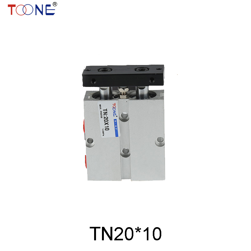 Electronic Yide passenger pneumatic cylinder biaxial TN20 * 10/30/40/60/70/80/100/125 tda20 30 biaxial cylinder tda20 30 double rod cylinder tn20 30 pneumatic components tn20x30 cylinder
