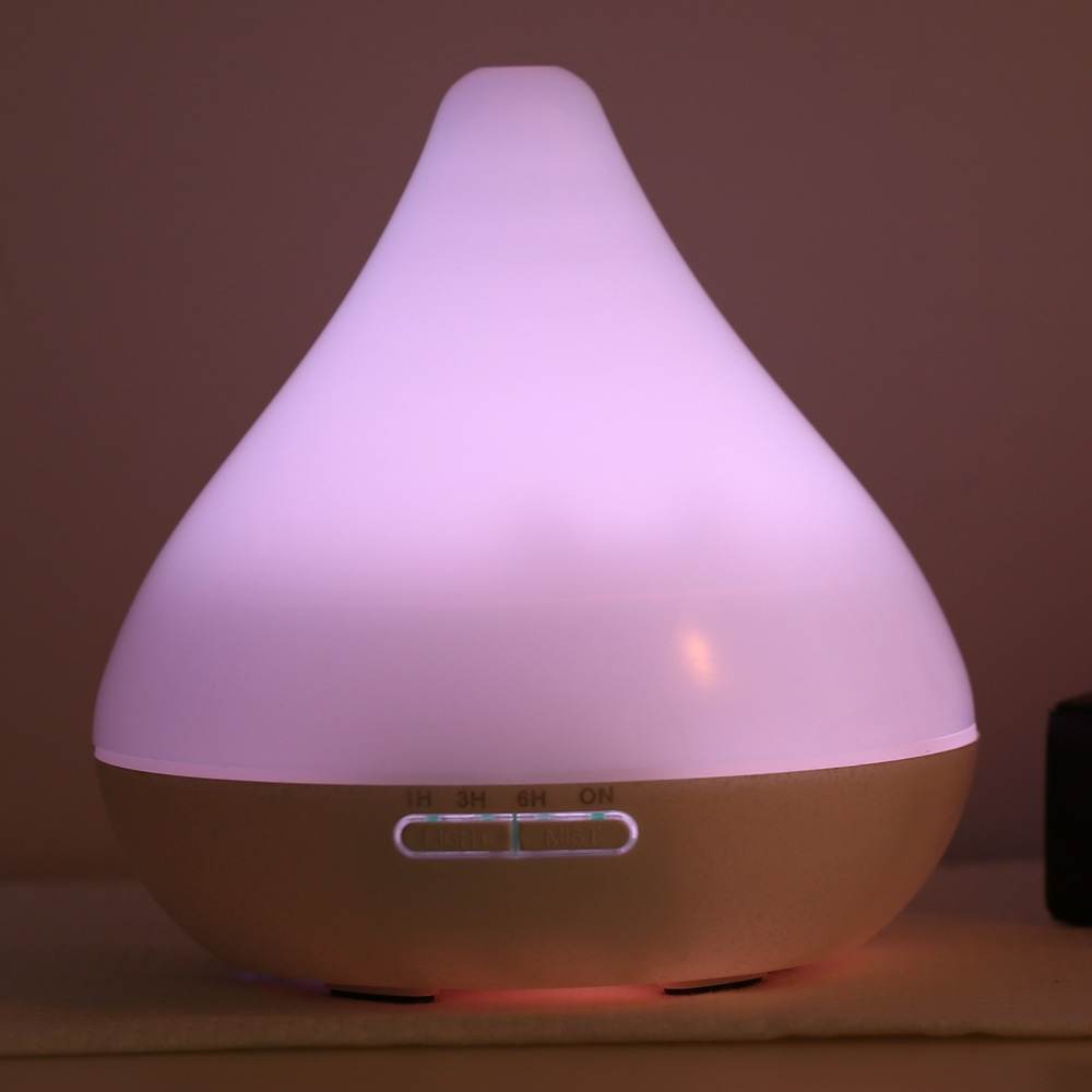 Air Humidifier Essential Oil Diffuser Aroma Lamp Aromatherapy Electric Aroma Diffuser Mist Maker with LED Light for Home EU Plug woodgrain humidifier essential oil diffuser aroma lamp aromatherapy electric aroma diffuser mist maker for home wood