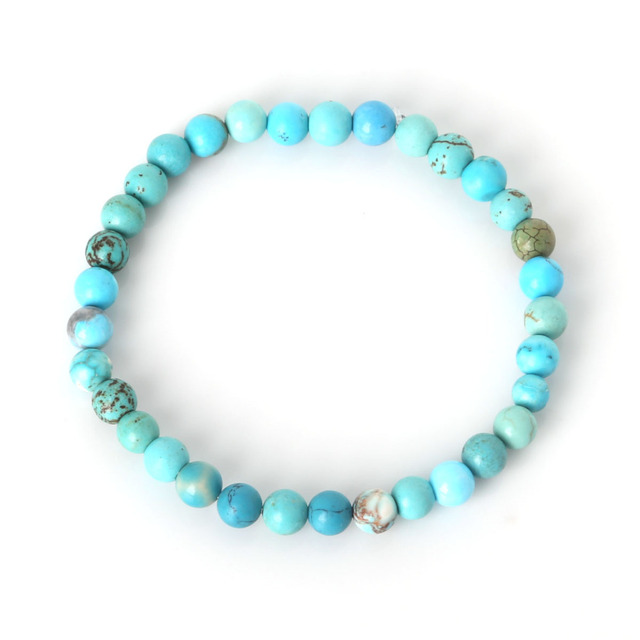 New Summer Style Natural Stone Beads Bracelet Green Aventurine/Tiger Eye Beaded Stretch Bracelets Bangles Women Men