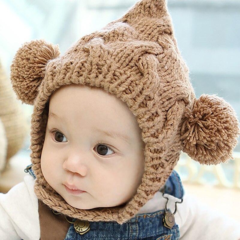 Nouveau-né Main Bébé Tricoté Bonnets Chapeau Chapeaux Casquettes Accessoires 58c40026520