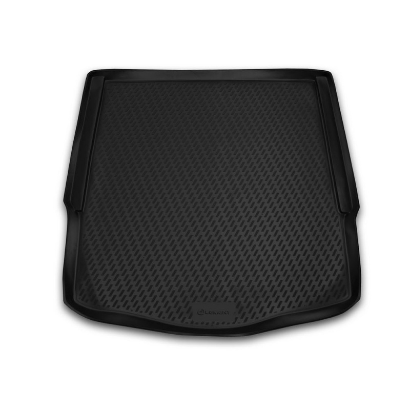Trunk mat for Ford Mondeo 2007-2014 sedan trunk mat floor rugs non slip polyurethane dirt protection interior trunk car styling win max wmf09853 comfortable polyester non slip yoga mat towel pink