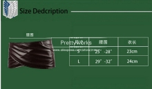 Attack on Titan Shingeki no Kyojin Leather skirt hookshot costume