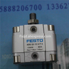 ADVU-50-5-A-P-A ADVU-50-10-A-P-A ADVU-50-15-A-P-A festo компактный баллоны пневматический цилиндр advu серии