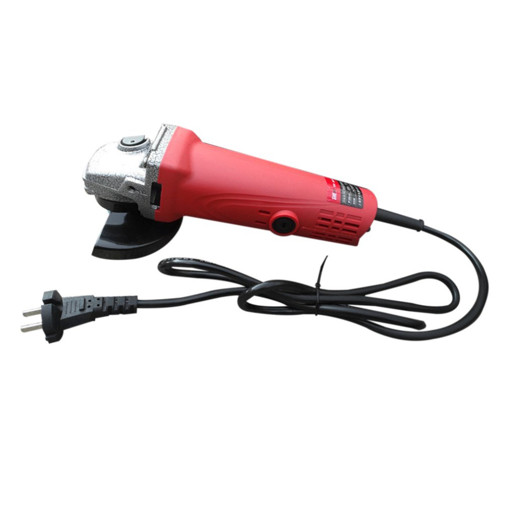 Angle Grinder 100mm 220V-240V 800W High Input Power Hand Mill Metal/Stone/Wood Grinding Cutting Polishing Machine