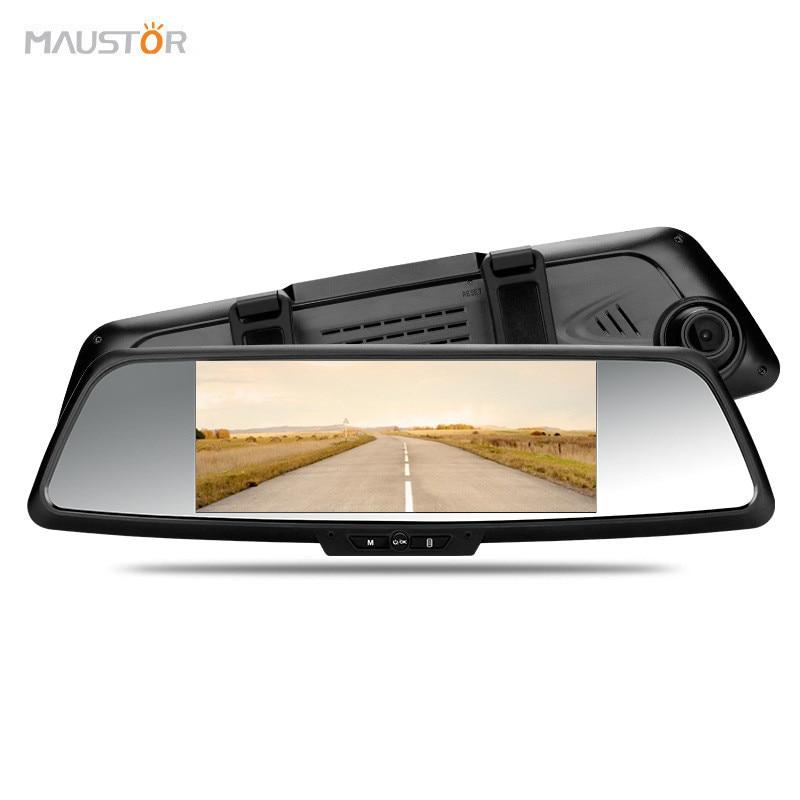 """imágenes para Más nuevo 7 """"Cámara del coche DVR de La Visión Nocturna Grabadora de Doble Lente de Espejo Retrovisor de Vídeo FHD 1080 P de Automóviles Espejo DVR Dash cam"""