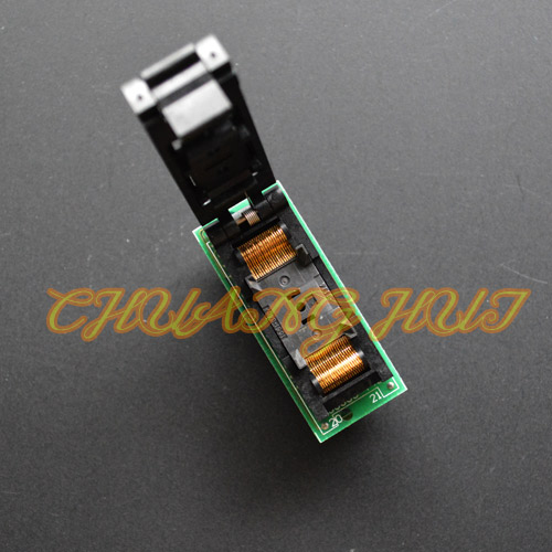 Clamshell IS0003-T40 Programmer's Adapter TSOP40 to DIP40 Adapter test socket