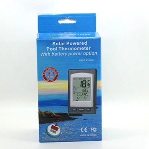 Image 4 - Solar Wireless Pool Thermometer Digital In Outdoor Swim SPA Pond Spa Tub Floating Backlit Waterproof Temperature Sensor Meter