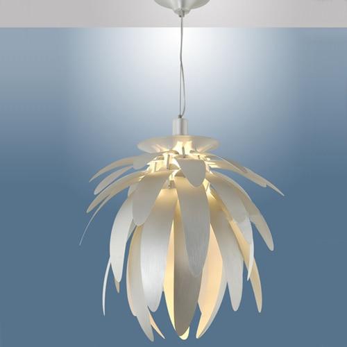 NEW Dragon fruit white/silver 38cm E27 fashion bedroom lamp dining room pendant light fixture driplight wrought iron free shippi