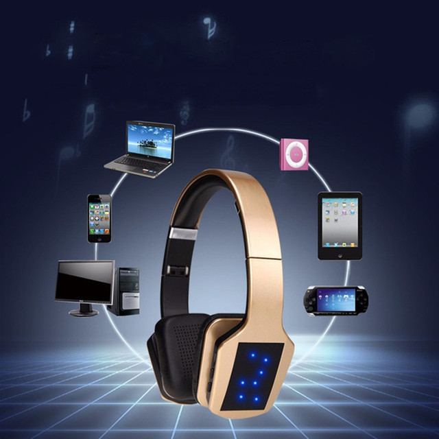 Wireless Bluetooth Stereo Headphones with Microphone