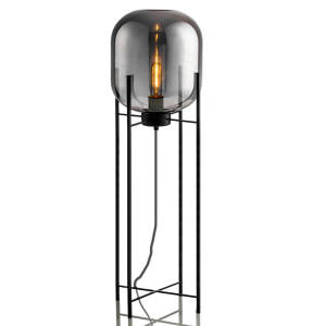 Lighting Deco Standing Floor-Lamps Bedroom Living-Room Nordic Modern LED Glass Home Fixtures