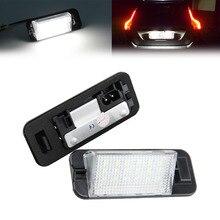 E36 (1992-1998) LED License plate Lamp/licença lâmpada quadro, 18 smd 3528 LED license plate luz substituto para BMW E36