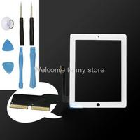 OEM White High Quality Front Glass Display Touch Screen Digitizer LCD Glass Lens With Flex Cable