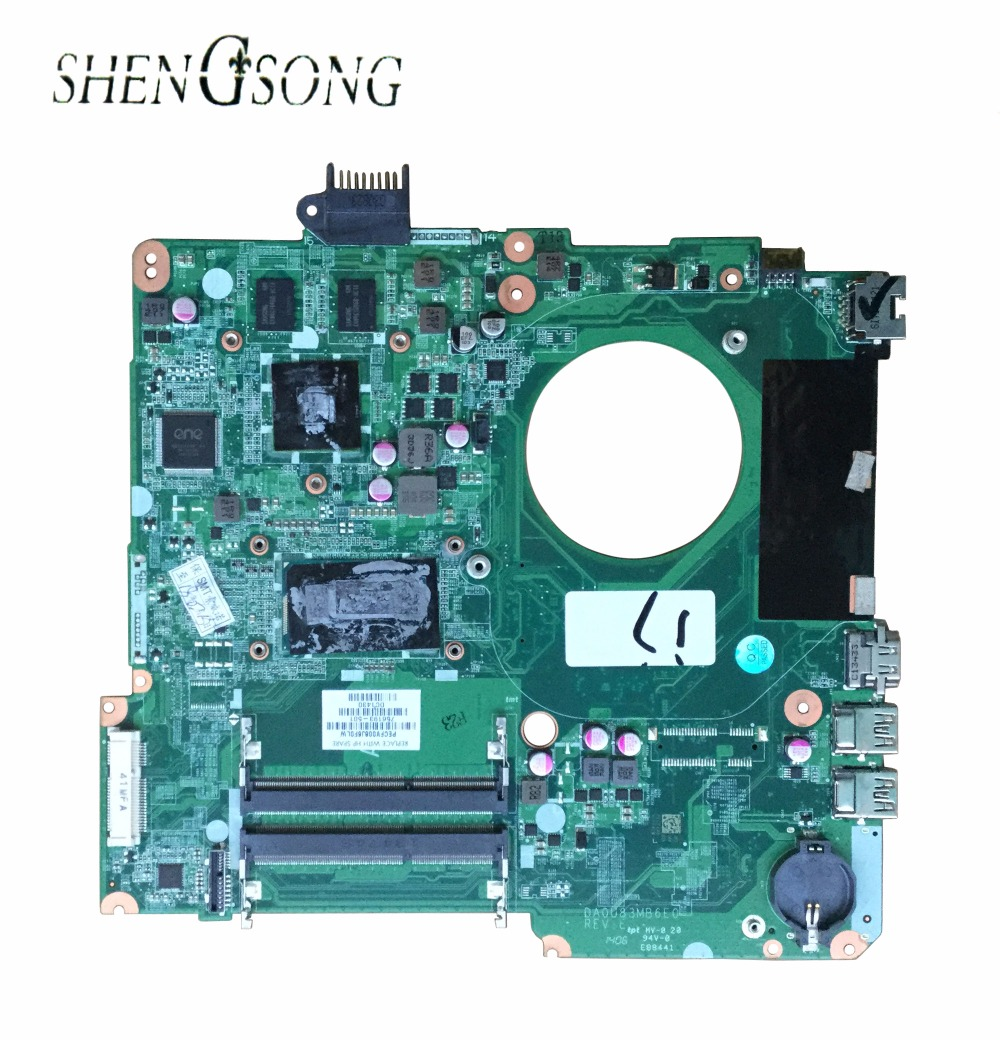 737986-501 Free Shipping laptop motherboard for HP 15-N Series 737986-001 DA0U82MB6D0 I7-4500U 740M 2GB 100% Fully tested for cq40 series 510566 001 laptop motherboard fully tested