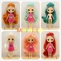 Завод Блит Кукла Мини Блайт Обнаженная Кукла 10 СМ 10 Различные Стили Разные Цвета Случайным Для Один Одеть