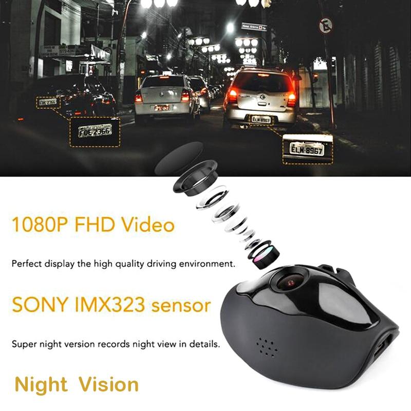Bluavido Full HD 1080P Camcorder Avondmaal Nachtzicht Auto DVR WDR - Auto-elektronica - Foto 5