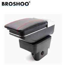 BROSHOO Car Armrest Box Interior Central Storage Content Box For Ford Ecosport  With Cup Holder Ashtray Car-styling Accessories