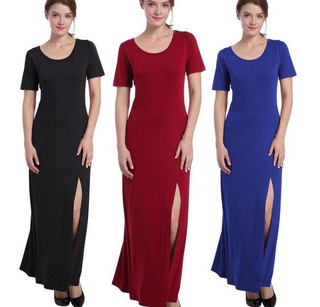 plus size sexy summer dress casual women vintage bodycon dress long font b robe b font