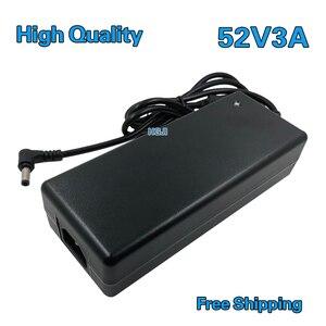 Image 1 - Dc 52 v 3a 전원 어댑터 공급 장치에 고품질 AC100V 240V 변환기 어댑터 1 pcs 무료 배송 dc52v 2.5a 2.8a dc 5.5*2.5/2.1mm