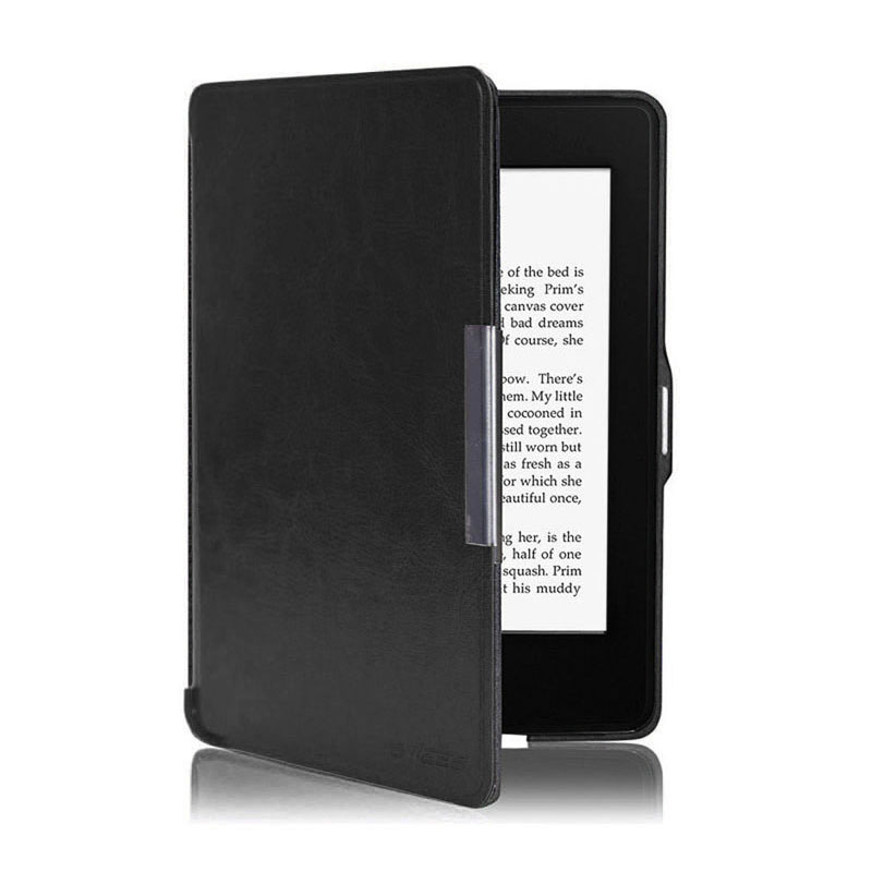 US $4 96 40% OFF|Hot Promotion Solid Protective Case for Amazon Kindle  Paperwhite 5 Ultra Slim Smart Leather Case Cover#ZS-in Tablets & e-Books  Case