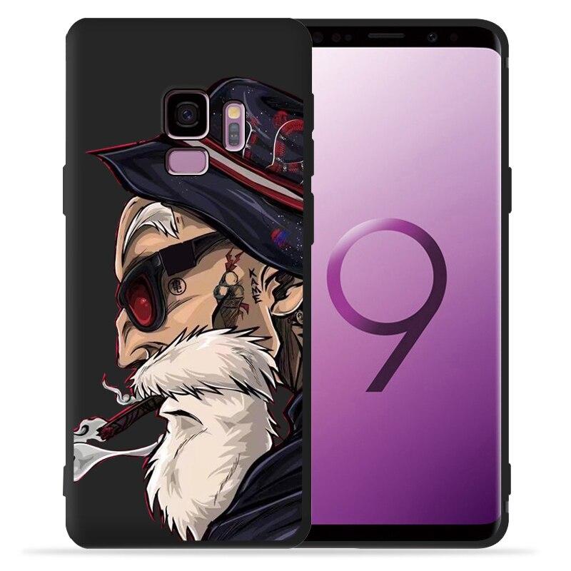 Dragon Ball Super Goku Vegeta Dragon Phone Case For Funda Samsung Galaxy S9 S8 S10 Plus S7 S6 Edge S10 Lite Note9 8 Cover Etui