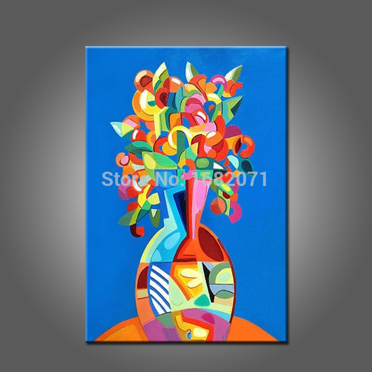 Abstract Design Hand Painted High Quality Unique Oil Painting