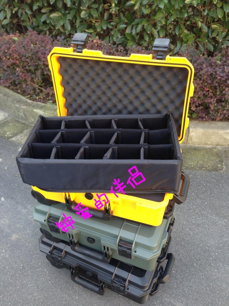 Gereedschapskoffer trolleykoffer Slagvast verzegelde gereedschapskist - Gereedschap opslag - Foto 4