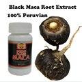 Compre 2 y obtenga 1 botella envío! el Poder del hombre Negro de la raíz de Maca en polvo 100% orgánico Puro extracto de maca maca Peruana negro cuidado de la salud para el hombre