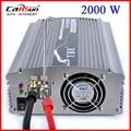 TBE 2000 W Adaptador DC 12 V para AC 220 V Onda Senoidal Modificada Barco Carro Potência Do Inversor 2000 W Potência de pico MÁXIMA TBE-2000W