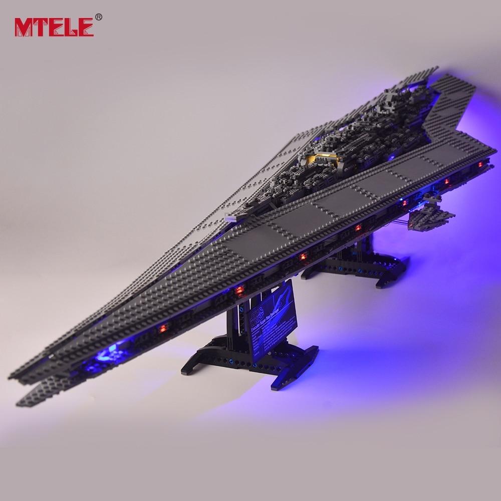 MTELE Led Light Kit Only Light Set For Super Star Destroyer Light Set Compatible With 10221