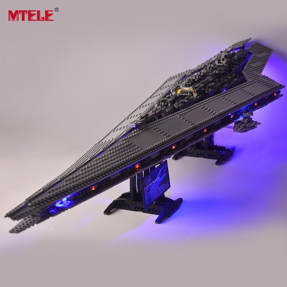 MTELE Led Light Kit (Only Light Set) For Super Star Destroyer Light Set Compatible With 10221 (Not Include Model)