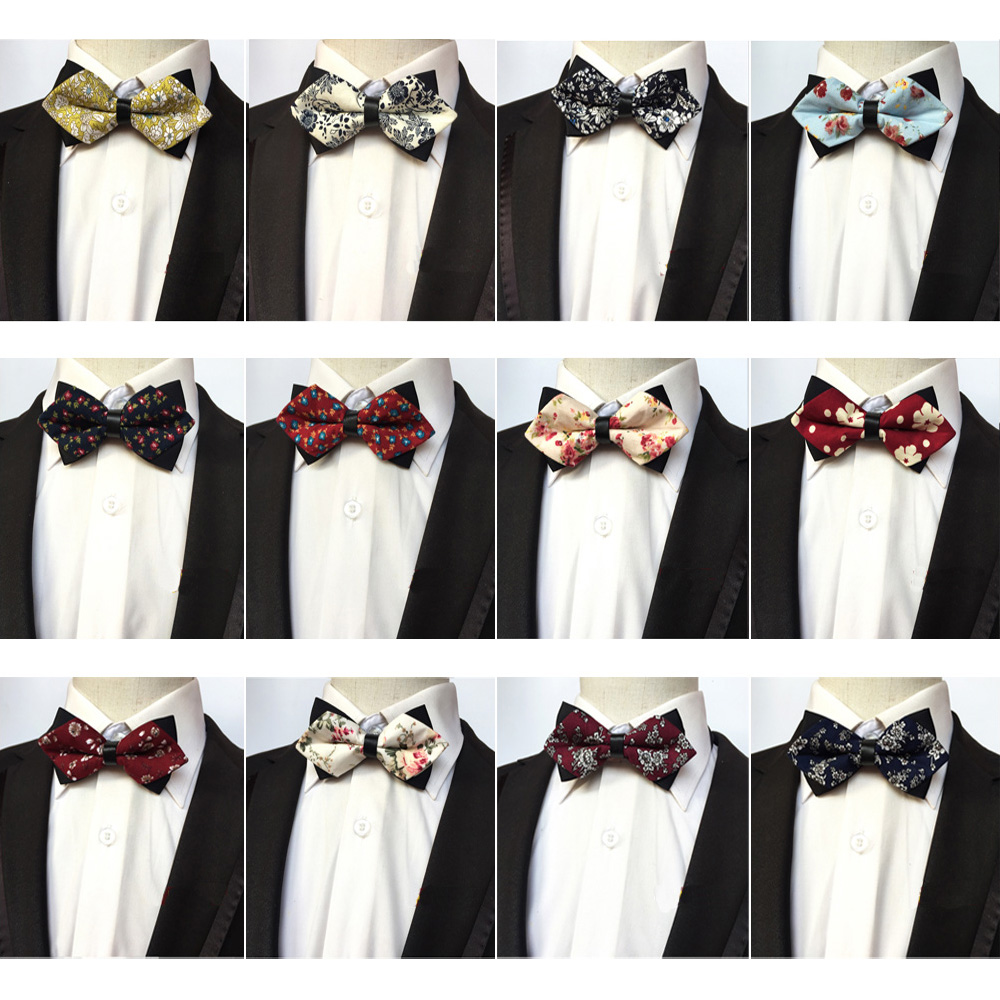 Men Fashion Paisley Floral Adjustable Bow Tie Wedding Party Prom Bowtie NEW HZTIE0152