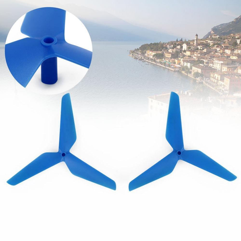 Мини multirotors Пластик прочный синий 3-винтов лезвие КОО CW для SYMA x5c