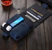 Новинка сумка для технология iqos кошелек случае электронная сигарета Защитная сумка для технология iqos искусственная кожа Чехол
