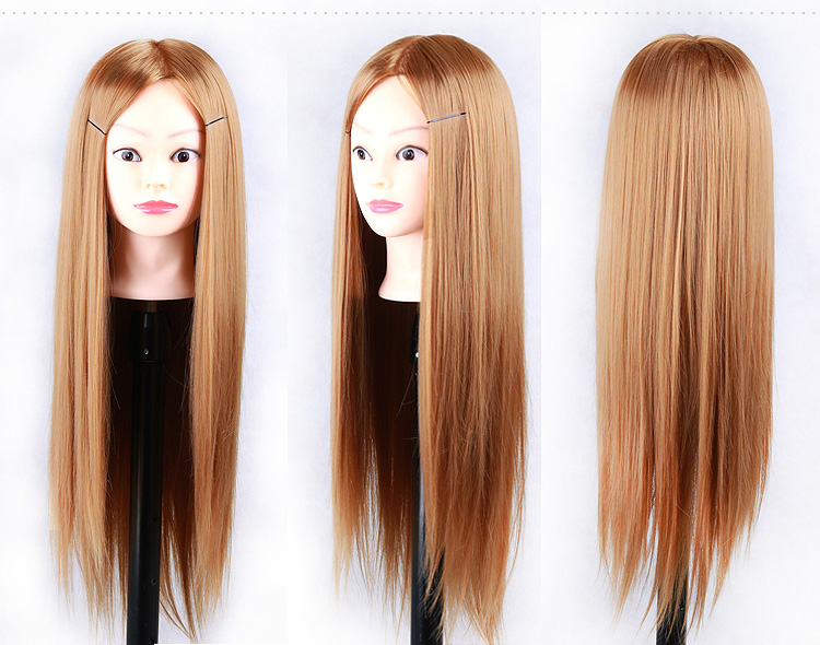 "Hair Styling Mannequin Head: Aliexpress.com : Buy 24""Hair Mannequin Head Hair Fake"