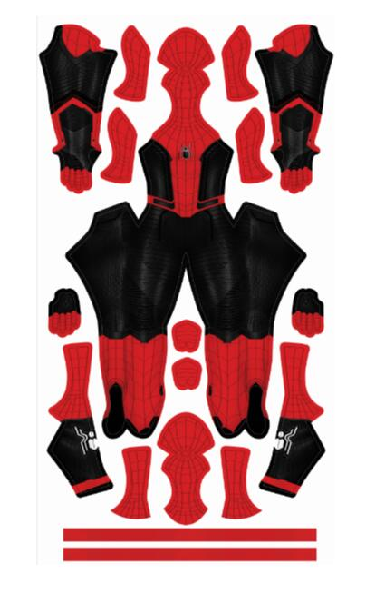 Spider Man Costume For Custom Made