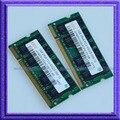 2 ГБ 2x1 ГБ DDR2 667 PC2 5300 200pin Sodimm 200-КОНТАКТНЫЙ NON-ECC RAM ПАМЯТИ Ноутбука Ноутбук 2 Г Ram Бесплатная доставка
