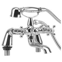 Современная классическая Ванна наполнителя смеситель для душа ванной кран хромированной латуни