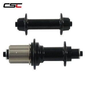 Image 1 - のみ 285 グラム/セットスーパーライト Powerway R13 ロードバイクハブ、串 16/20 、 18/21 、 20/24 穴