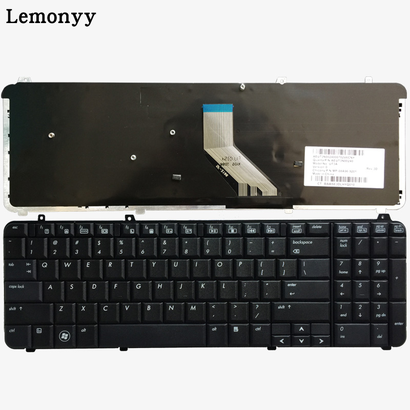 US Laptop Keyboard For HP Pavilion DV6-1000 DV6-1100 DV6-1200 DV6-1300 Dv6-2000 Dv6-2100 Dv6z-2000 Dv6-1245dx English Keyboard