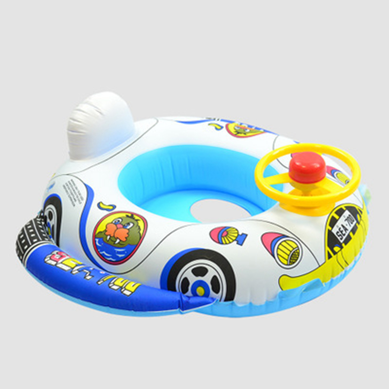 Baby Kids Summer Swimming Pool Swimming Ring Inflatable Swan Swim Float Water Fun Pool Toys Swim Ring Seat Boat Sport for 3-6Y (28)