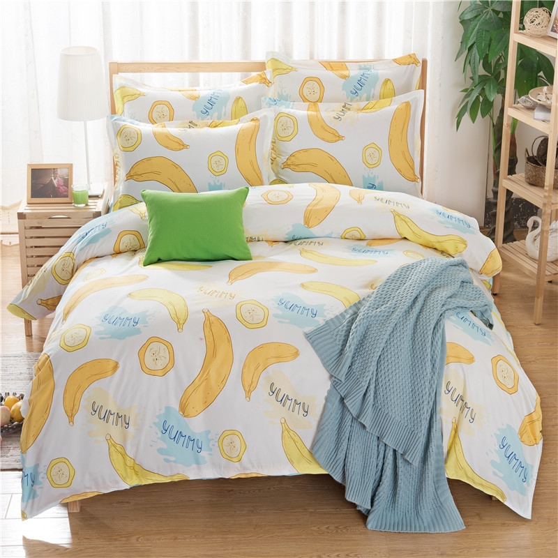 Bed Linen Set Adult Double Adult Duvet Cover Children Bed Sheets Pillow Cover Kids Bedding Set Single Twin Full Queen King Size